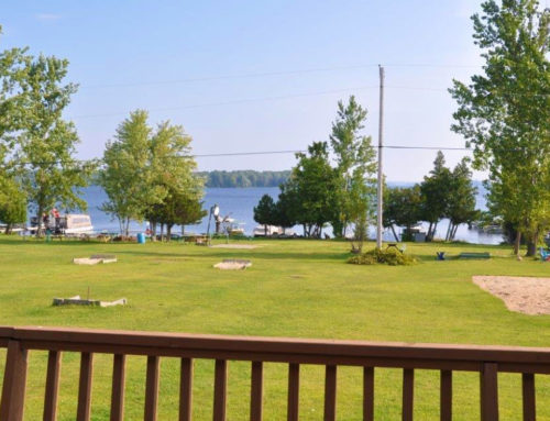 Patio View of Big Rideau Lake
