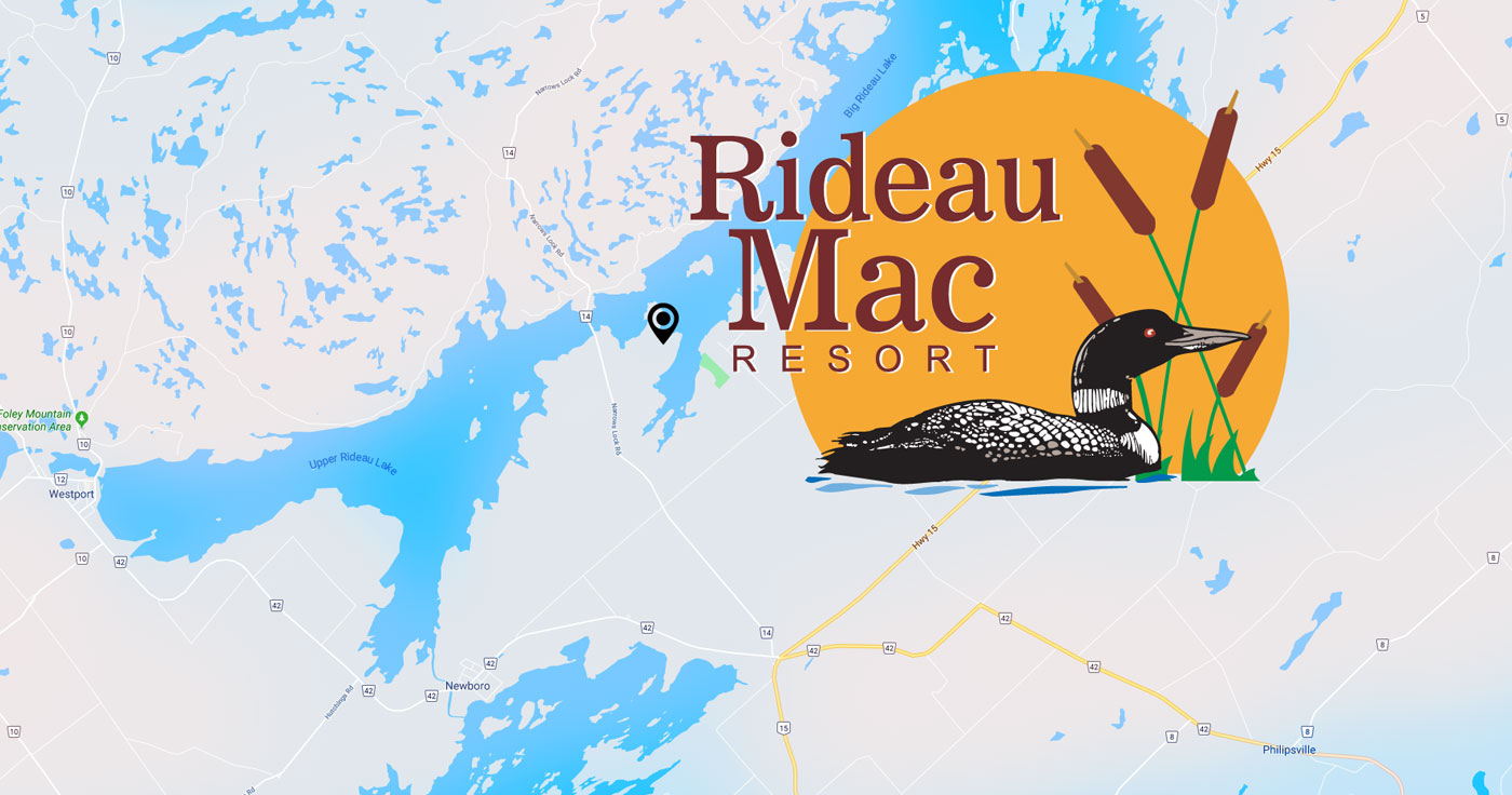 Rideau Mac Resort Map