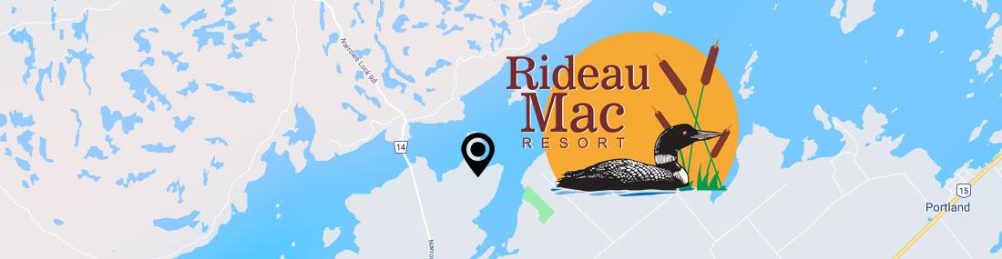 Rideau <Mac Resort Google Map
